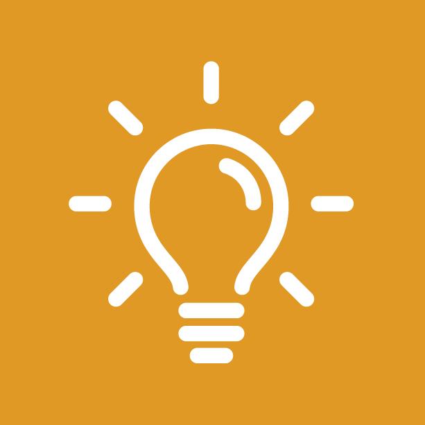 Preos Recommend icon - Lightbulb