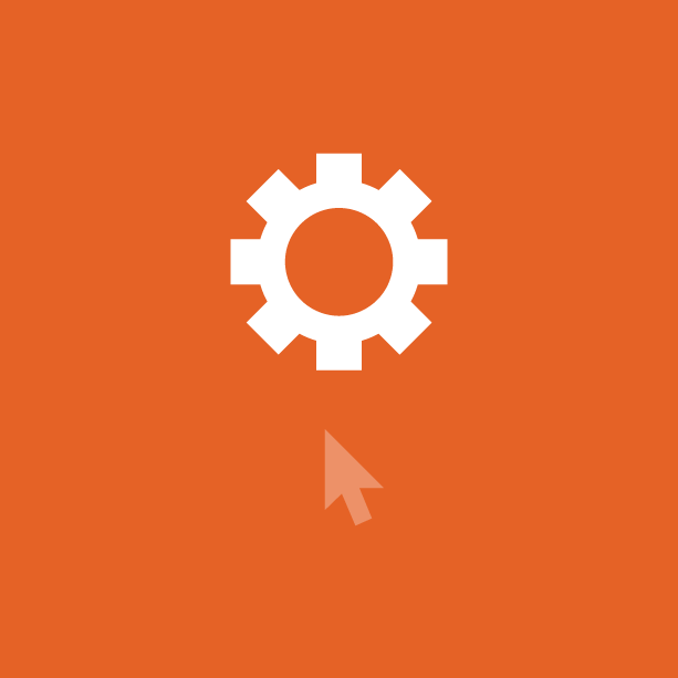 Preos Optimisation icon - Cog