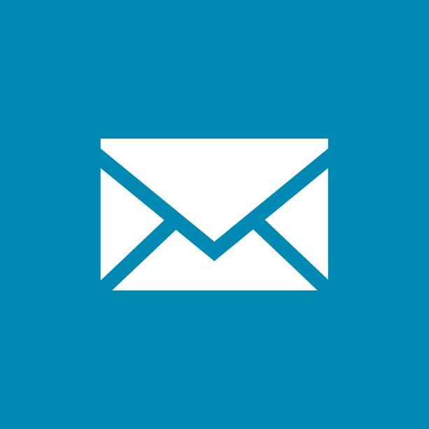 Preos email address icon - envelope