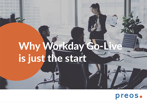 Why Workday Go-Live is just the start cover